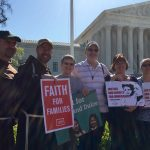 Franciscans Join the Rally in Support of Immigrant Families